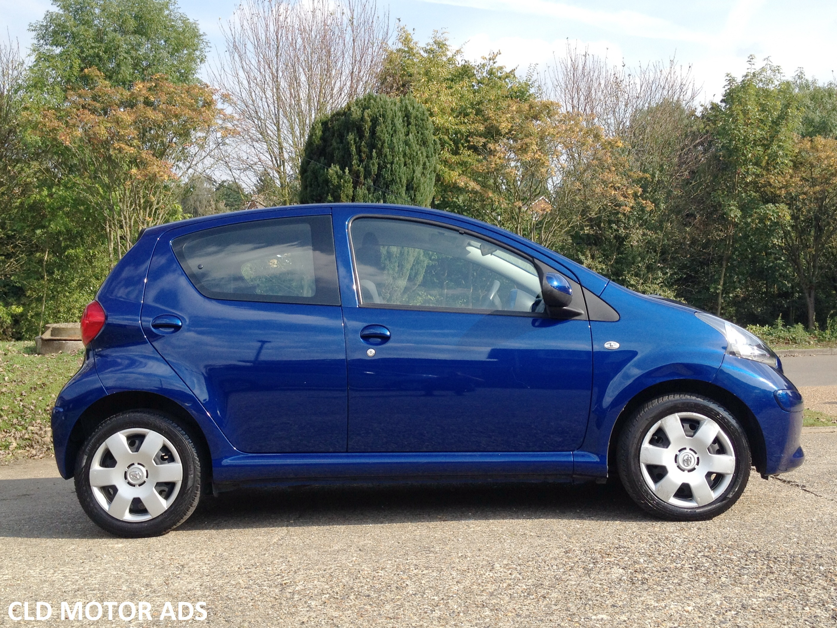 Now Sold Beautiful Low Mileage Toyota Aygo 1 0 Vvt I Blue